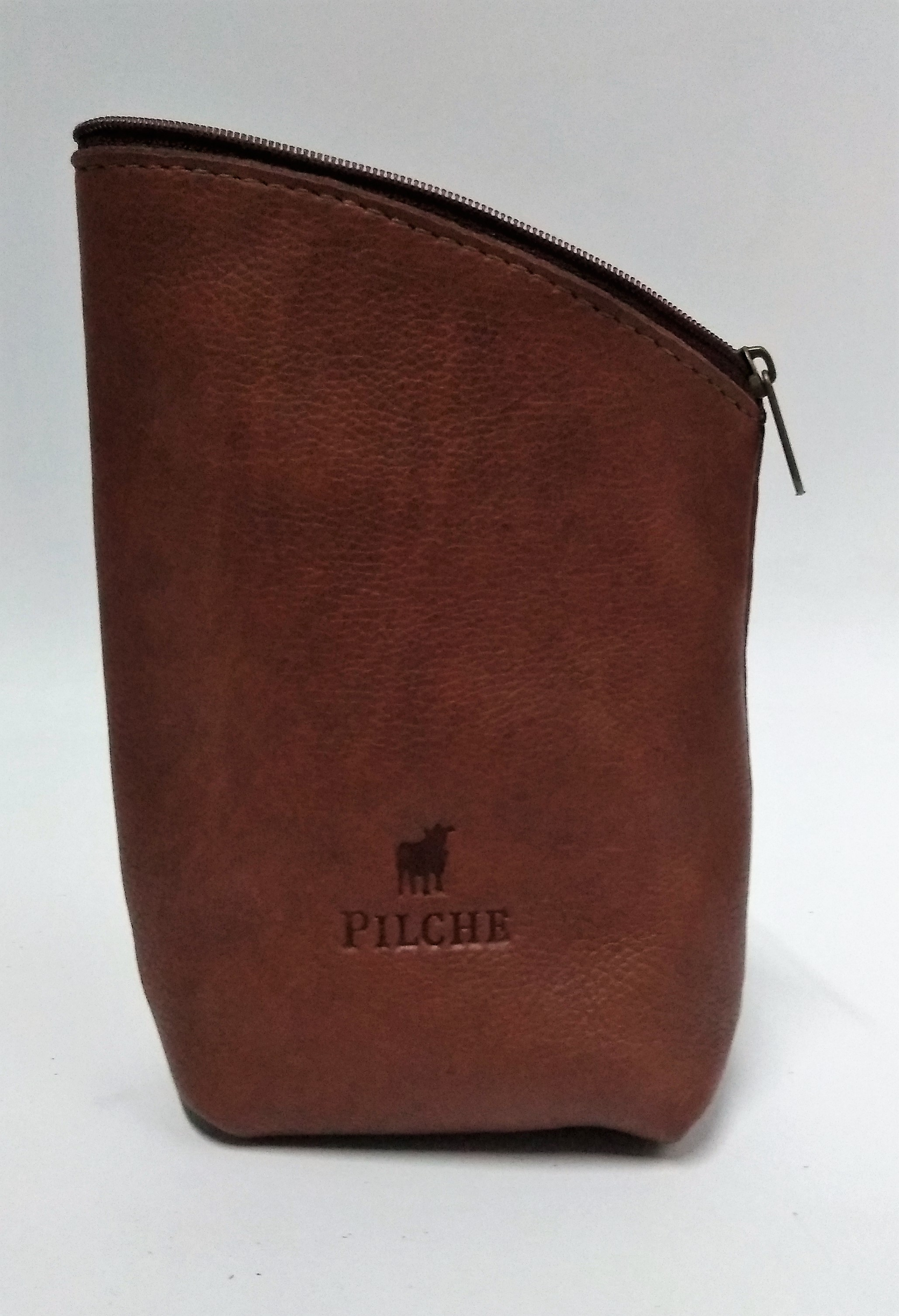 Bolsa Porta Fumo Pilche  Cognac